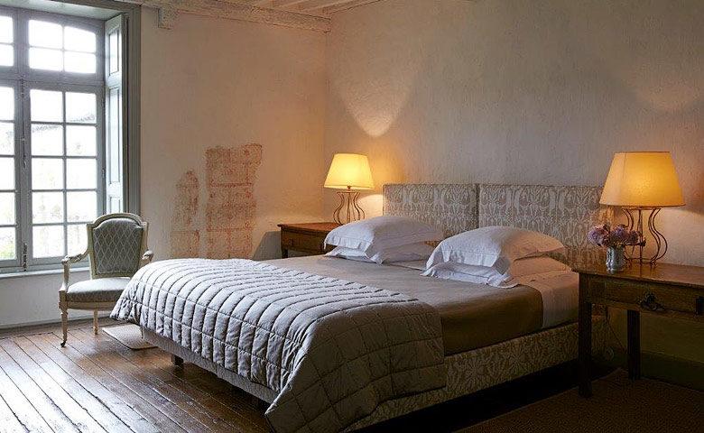 Manoir de Coutainville — Seigneurie bedroom