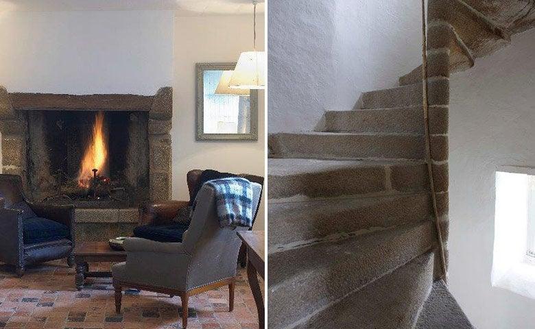 Manoir de Coutainville — Fireplace
