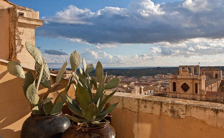 Seven Rooms Villadorata — View from Seven Rooms