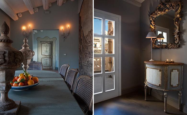 Seven Rooms Villadorata — Breakfast area