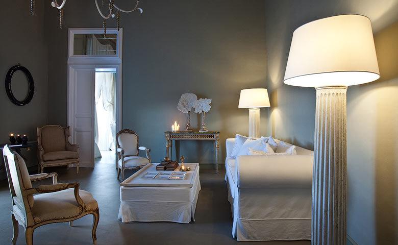 Seven Rooms Villadorata — Living area