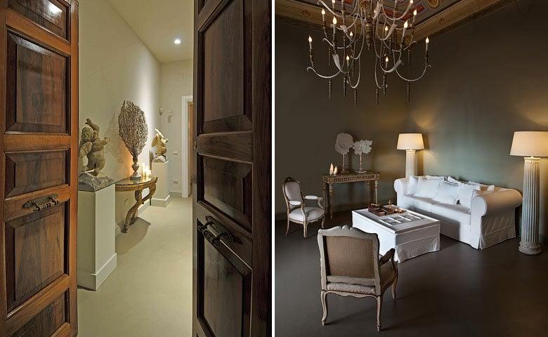 Seven Rooms Villadorata — Entrance and living area