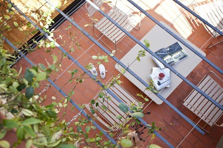 Urgell Apartment — Terrace