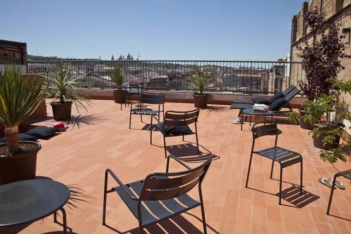 Urgell Apartment — Roof terrace