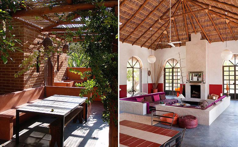 Casa Encanto — Inside and outside living area