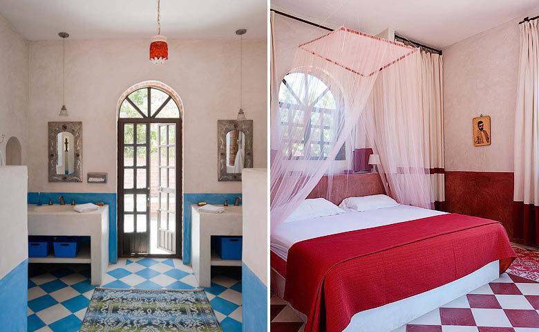 Casa Encanto — Bedroom and bathroom