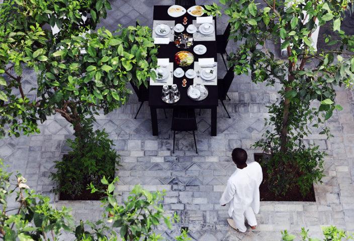 Dar Kawa — Dar Kawa patio