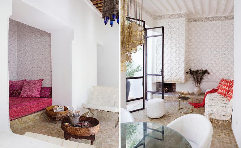 P'tit Habibi — Lounge area
