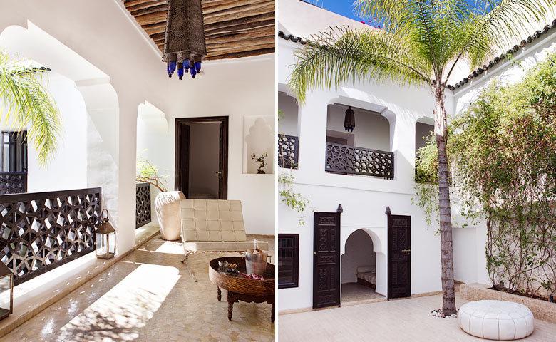 P'tit Habibi — Riad courtyard