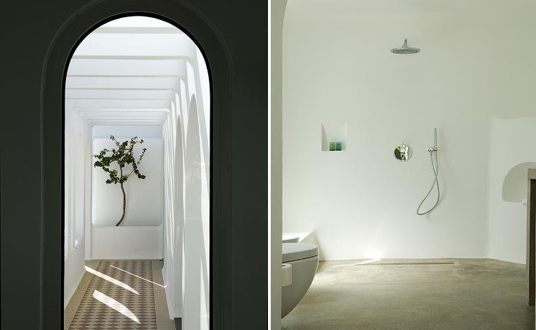 Casa Arte — Exterior and bathroom
