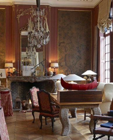 Hôtel Verhaegen — Dining room