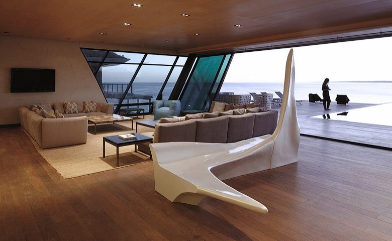 Playa Vik — Living area