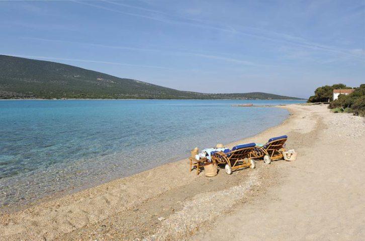 Greek Island Retreat — Private beach