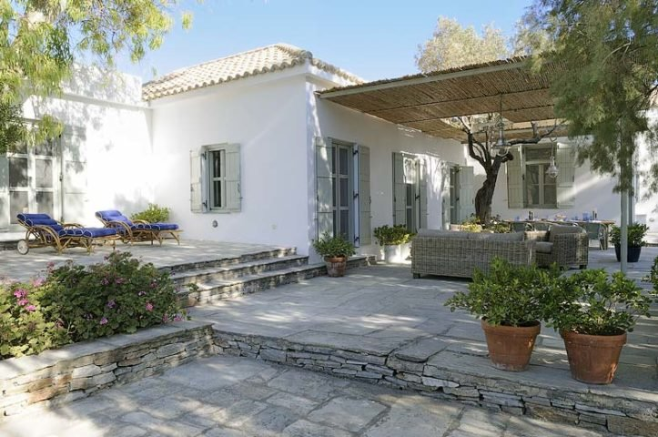 Greek Island Retreat — Terrace