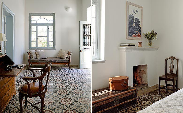 Greek Island Retreat — Villa interior