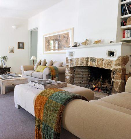 Greek Island Retreat — Lounge