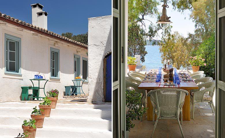 Greek Island Retreat — Bedroom