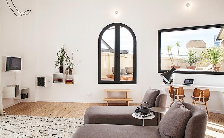 Eixample Penthouse — Apartment lounge