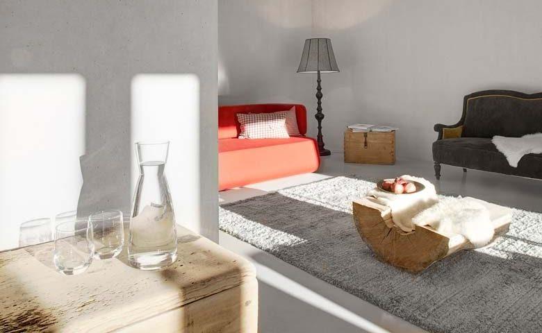 Modern Chalet — Living area