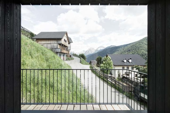 Modern Chalet — View from balcony