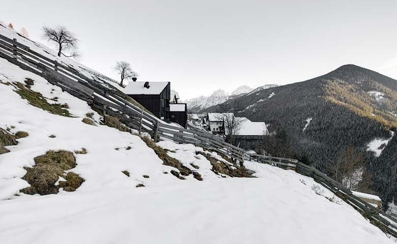 Modern Chalet — South Tyrol in winter