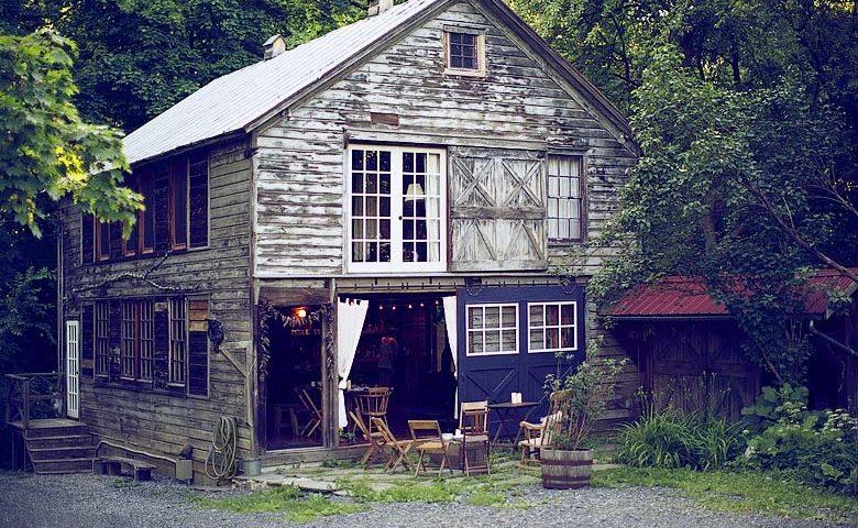Rustic Homestead — Barn exterior