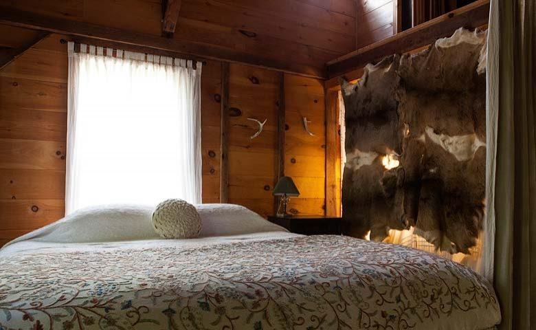 Rustic Homestead — Bedroom