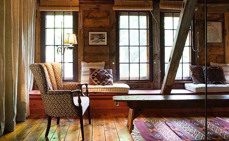 Rustic Homestead — Upstairs living area