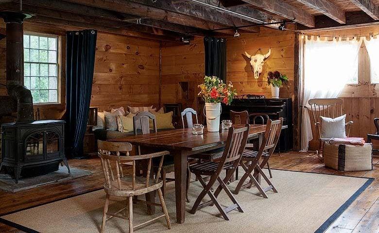 Rustic Homestead — Dining area