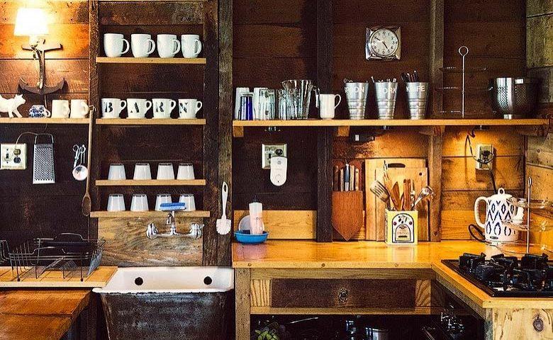 Rustic Homestead — Kitchen