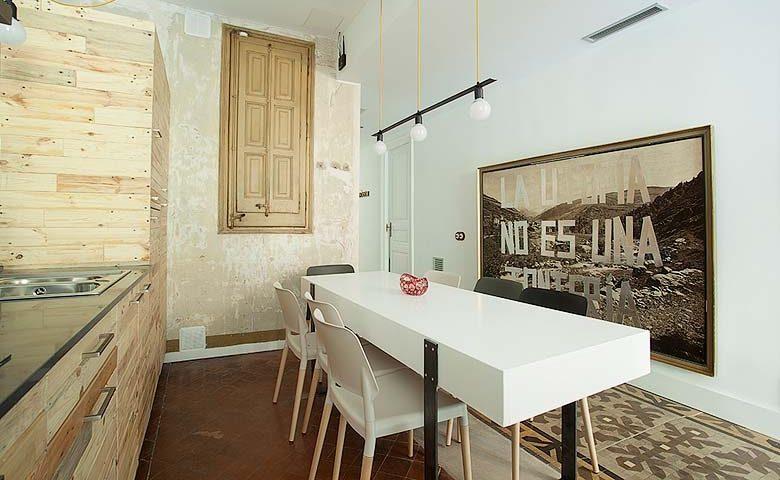 yök Casa & Cultura — Casa C kitchen area