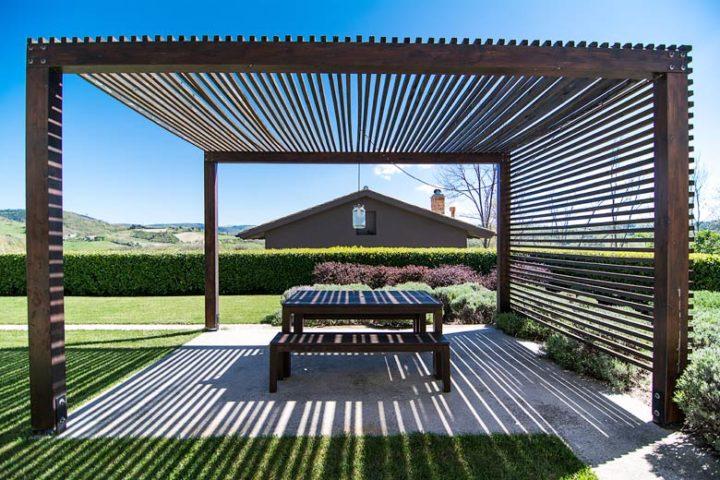 Borgo Tranquillo — Outside dining area Villa