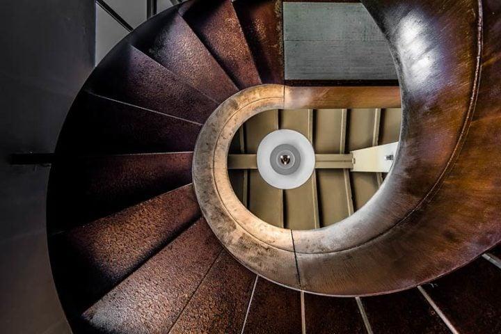 Borgo Tranquillo — Spiral Staircase in Spa