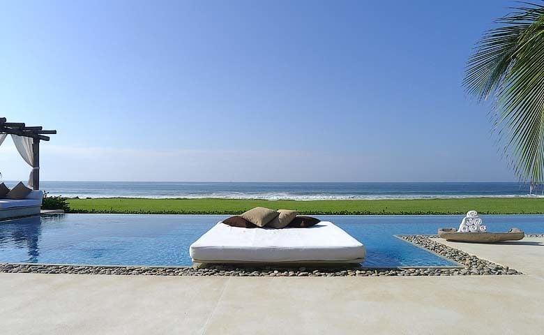 Casa Inspiración — Pool and Pacific ocean view