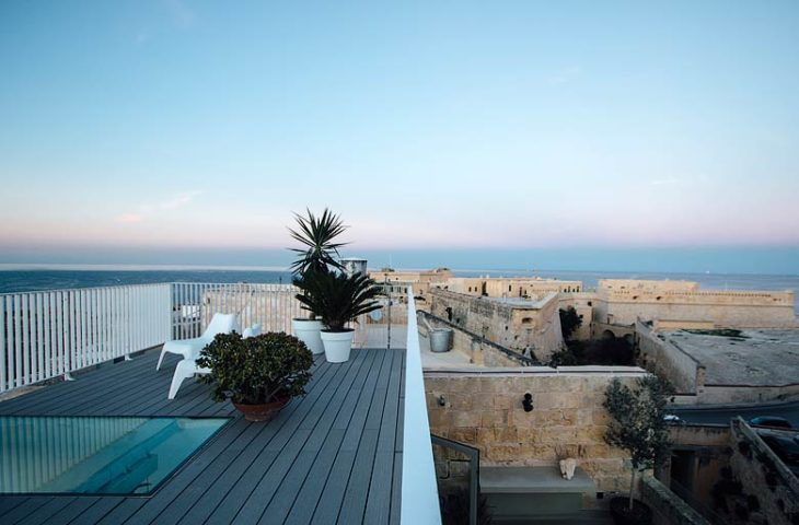 Valletta Vintage — Roof terrace