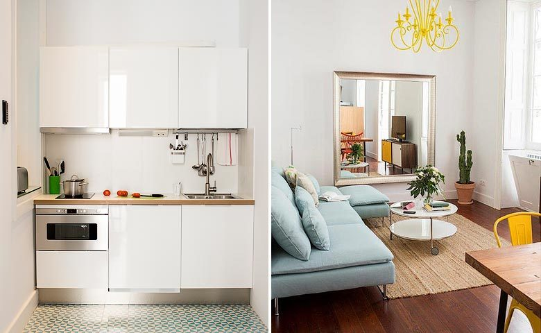 The Loft Las Palmas — Kitchen and living area