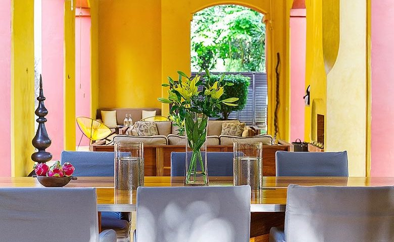 Hacienda Sac Chich — Dining area