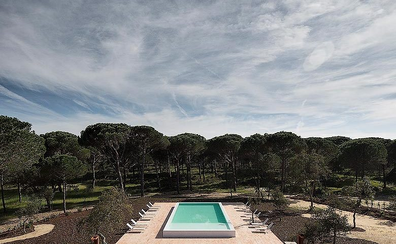 Sublime Comporta — Pool and Comporta landscape
