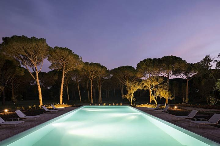 Sublime Comporta — Pool at night