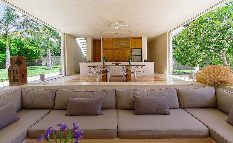 Casa Sisal — Open lounge area