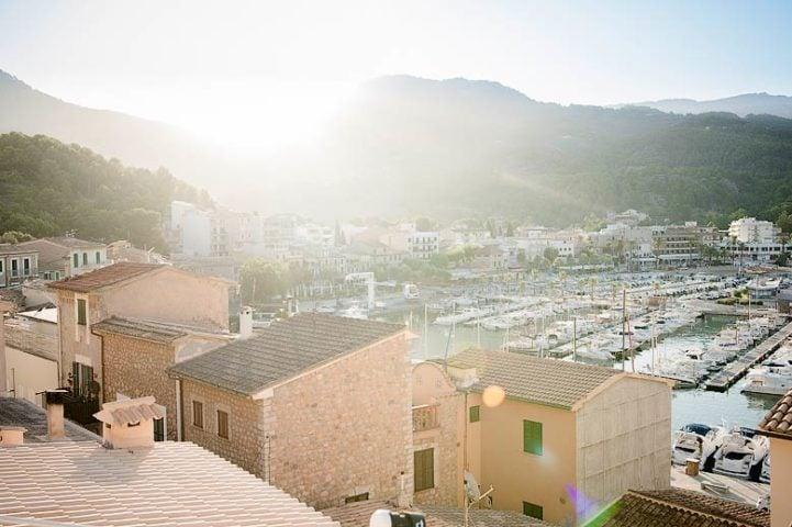 Casa Port — View of Sóller from Casa Port