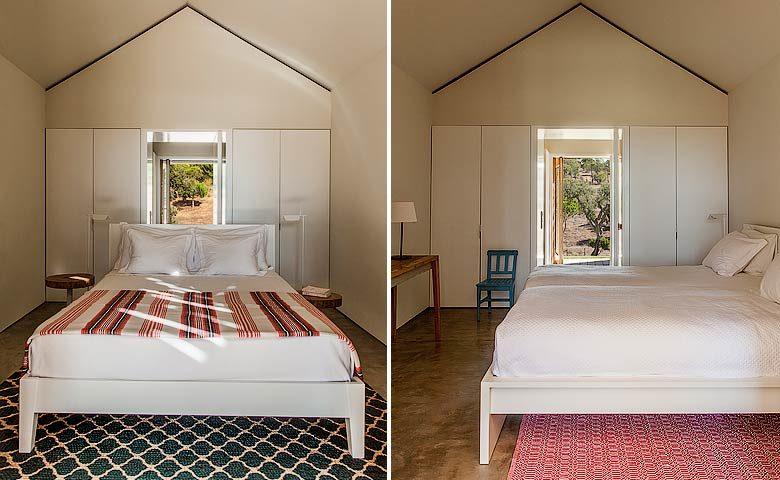 Les Terrasses de Comporta — Bedrooms in bungalows