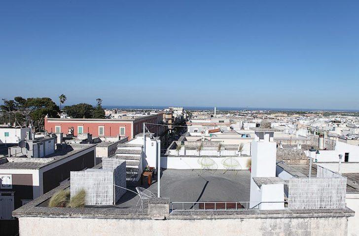 Palazzina Alchimia — Roof terrace view