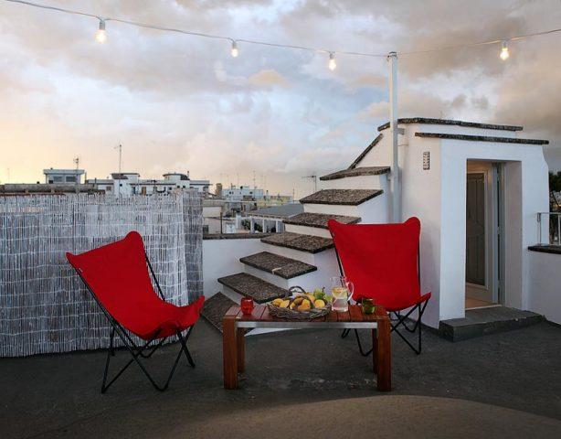 Palazzina Alchimia — Roof terrace