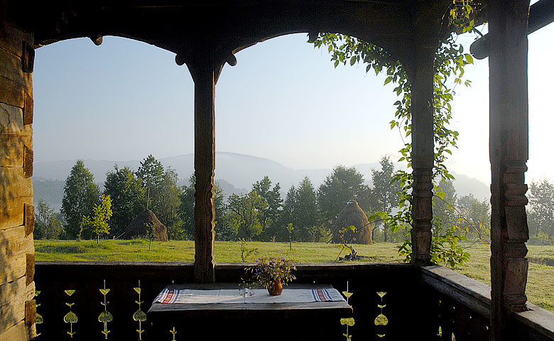 Maris Lodge — View from veranda