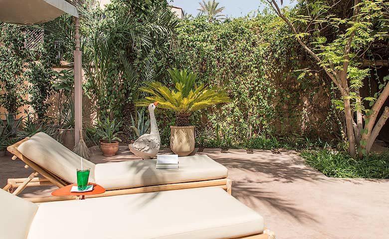 Artist Villa — Bedroom terrace