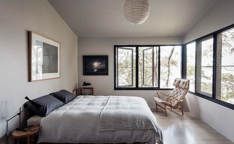 The Dangar Island House — Main Bedroom
