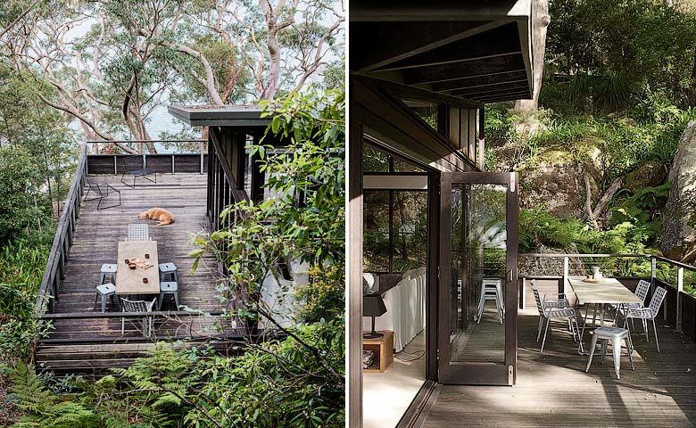 The Dangar Island House — Deck / outdoor dining area