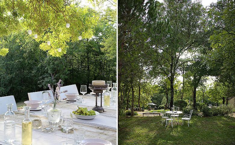 Bassivière — Bassivière gardens