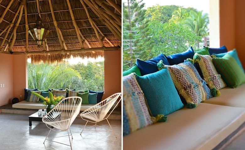 Casita Luna — Living area